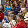 Support: Supporters clap for their Winter Guard team as it performs Saturday at the Northview Winter Guard Invitational.