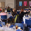 Lunch: Several people take advantage of the Terre Foods membership luncheon at Indiana State University Friday afternoon.