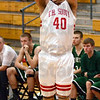 Outside: South's #40, Jeffrey Turner launches an outside shot during game action against Evansville North Friday night.
