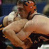 Points: Tsali Lough won his first round match on points over Hammonl Noll wrestler Damian Gomez.