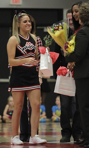 Senior Cheerleader Molly McKinney
