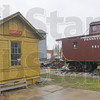 Tribune-Star/Jim Avelis<br /> Big draw: The old Turner station and a Pennsylvania Rail Road caboose are among the items at the Rail Road museum om Plum Street east of 13th.