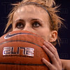 Tribune-Star/Jim Avelis<br /> One more: Indiana State guard Brittany Schoen eyes a free throw early in the Sycamore's game with Missouri State Friday night.