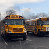 Team busses: Scores of busses lined the parking lot at Northview high school Saturday morning as more than 60 teams participated in the Northview Winter Guard Invitationa.l.