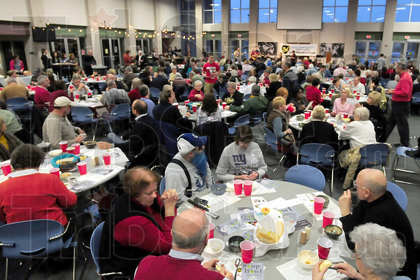 Full house: The Soup Bowl Benefit at Maryland Community Church Saturday evening resulted in a sold out audience.