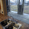 Tribune-Star/Jim Avelis<br /> Room with a view: The remodeling work on the Collett Park Pavilion has opened the main room to the outside via three large windows.