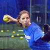 Softball: Indiana State's Megan Stone fires the ball to a teammate during Friday's practice at their indoor facility.