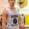 Tribune-Star/Jim Avelis<br /> Leader: Tyler Talpas is ranked at the stae level in his scoring for Union High School.