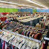 Tribune-Star/Joseph C. Garza<br /> Saving opportunities: Shoppers peruse the aisles of the new Goodwill Store & Donation Center at 2645 Wabash Avenue shortly after the store's opening Tuesday.