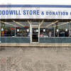 "Tribune-Star/Joseph C. Garza<br /> The ""open"" sign is on: Bargain hunters have a new opportunity to save with the opening of the new Goodwill Store & Donation Center at 2645 Wabash Avenue."