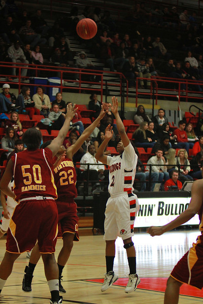 Women's Basketball v Winthrop, Feb 11, 2012.