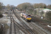 23 February 2012 :: 66058 at the South end of Hinksey Yard with 6A48 from Bicester to Didcot MOD train