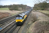 21 February 2012 :: Passing Potbridge is 66743 with 4Y19, Mountfield to Southampton empty Gypsum