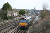 20 January 2012 ::  Additional Wentloog to Southampton running as 4Z51 with 66418 passes Worting