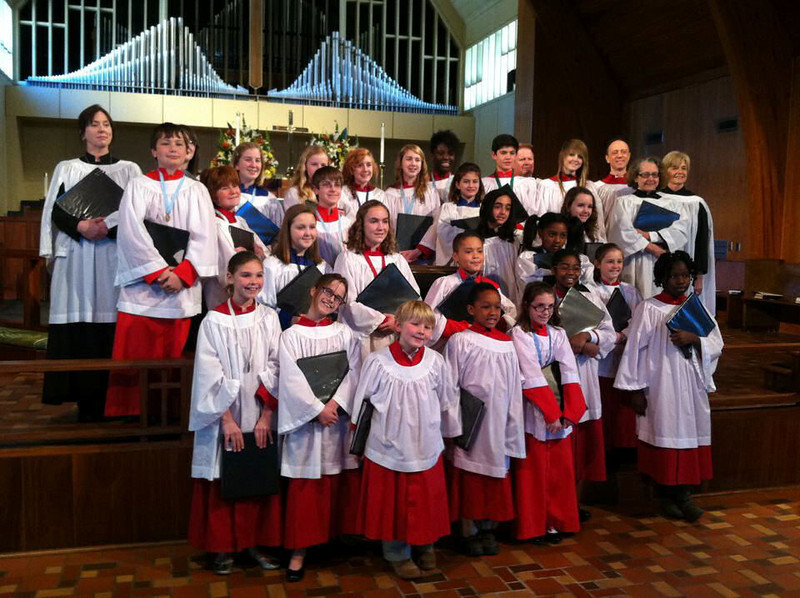 Anthony, at the RSCM choir festival, St. Martins Church in Columbia.
