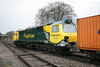 17 February 2012 :: After its first visit to the South,70018 returns to Birch Coppice on 4M68 from Southampton