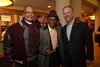 "Charles Burrell, Jr.; Charles Burrell; and Doug Price (RMPBS president and CEO).  ""Steppin' out with Ben Vereen,"" a concert benefiting Rocky Mountain PBS, at the Newman Center for the Performing Arts, Gates Concert Hall, in Denver, Colorado, on Friday, Feb. 3, 2012.<br /> Photo Steve Peterson"
