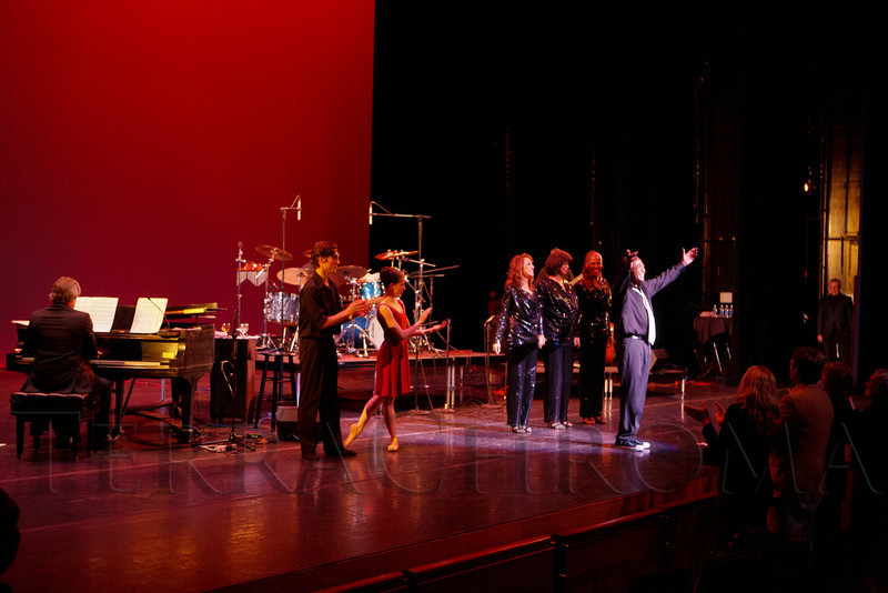 """""""Steppin' out with Ben Vereen,"""" a concert benefiting Rocky Mountain PBS, at the Newman Center for the Performing Arts, Gates Concert Hall, in Denver, Colorado, on Friday, Feb. 3, 2012.<br /> Photo Steve Peterson"""