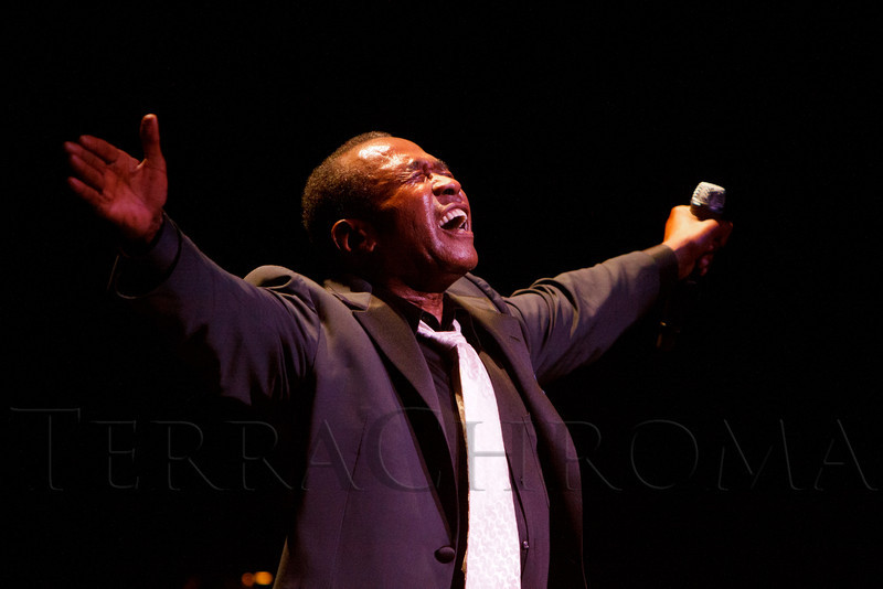 """Ben Vereen.  """"Steppin' out with Ben Vereen,"""" a concert benefiting Rocky Mountain PBS, at the Newman Center for the Performing Arts, Gates Concert Hall, in Denver, Colorado, on Friday, Feb. 3, 2012.<br /> Photo Steve Peterson"""