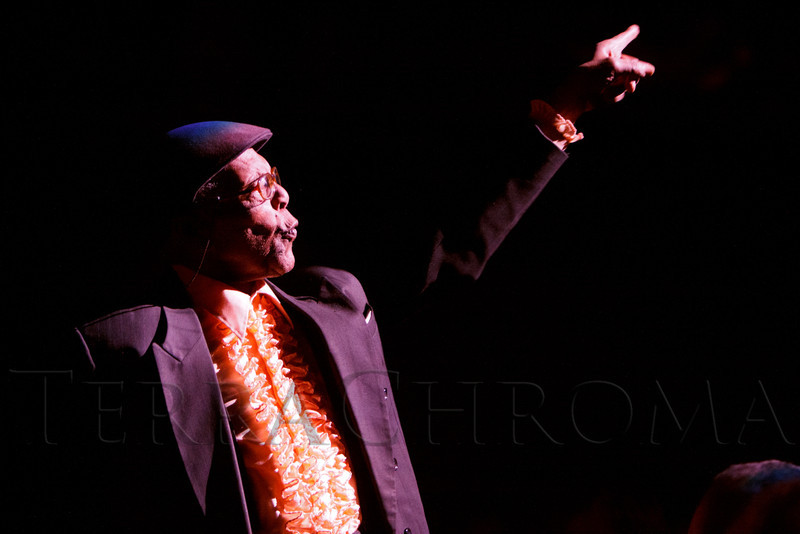 "Charles Burrell.  ""Steppin' out with Ben Vereen,"" a concert benefiting Rocky Mountain PBS, at the Newman Center for the Performing Arts, Gates Concert Hall, in Denver, Colorado, on Friday, Feb. 3, 2012.<br /> Photo Steve Peterson"