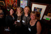 "Patti Wells, Barbara Reasoner, Nancy Cole, Laura Murray.  ""ArtReach Dine & D'art,"" benefiting ArtReach Denver, at Mile High Station in Denver, Colorado, on Saturday, Feb. 4, 2012.<br /> Photo Steve Peterson"