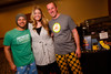"Ed Muñoz, Shelly Landaal, and Jon Schlegel with Snooze.  ""Seventh Annual PJ Day,"" benefiting Denver's Road Home, at the Residence Inn Denver City Center in Denver, Colorado, on Thursday, Feb. 9, 2012.<br /> Photo Steve Peterson"