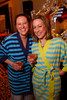 "Corey Plotkin and Sarah Hogan.  ""Seventh Annual PJ Day,"" benefiting Denver's Road Home, at the Residence Inn Denver City Center in Denver, Colorado, on Thursday, Feb. 9, 2012.<br /> Photo Steve Peterson"