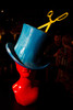 """Top Hat,"" by Samuel Schimek, founder of 15 min.  Design After Dark 2012, themed ""bespoke,"" benefiting the Denver Art Museum, at 445 Broadway in Denver, Colorado, on Friday, Feb. 10, 2012.<br /> Photo Steve Peterson"