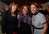 "With the Denver Art Museum's department of Architecture, Design and Graphics:  Donna Kerwin, Carrie Grezlak (event coordinator), and Laura Bennison.  Design After Dark 2012, themed ""bespoke,"" benefiting the Denver Art Museum, at 445 Broadway in Denver, Colorado, on Friday, Feb. 10, 2012.<br /> Photo Steve Peterson"