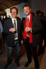 "Hugh Graham and Phillip Svoboda.  Design After Dark 2012, themed ""bespoke,"" benefiting the Denver Art Museum, at 445 Broadway in Denver, Colorado, on Friday, Feb. 10, 2012.<br /> Photo Steve Peterson"