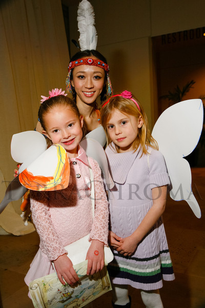 "Family activities at ""Neverland,"" hosted by the Colorado Ballet Auxiliary in advance of the Colorado Ballet performance of ""Peter Pan,"" at Palazzo Verdi in Greenwood Village, Colorado, on Sunday, Feb. 12, 2012.<br /> Photo Steve Peterson"