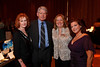 "Carol and Don Marostica, Maureen Hewitt (InnovAge president and CEO), and Leslie Karotkin (InnoVage executive director).  Benefit for InnovAge, formerly Total Community Options Foundation, themed, ""Early Bird Special,"" at the Donald R. Seawell Grand Ballroom, Denver Center for Performing Arts, in Denver, Colorado, on Saturday, Feb. 18, 2012.<br /> Photo Steve Peterson"