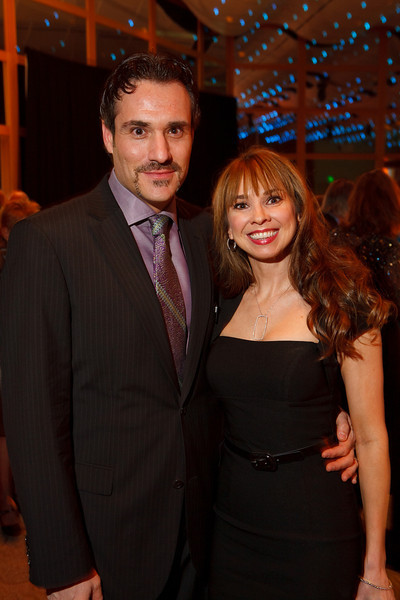 "Marco and Paige Chayet.  Benefit for InnovAge, formerly Total Community Options Foundation, themed, ""Early Bird Special,"" at the Donald R. Seawell Grand Ballroom, Denver Center for Performing Arts, in Denver, Colorado, on Saturday, Feb. 18, 2012.<br /> Photo Steve Peterson"