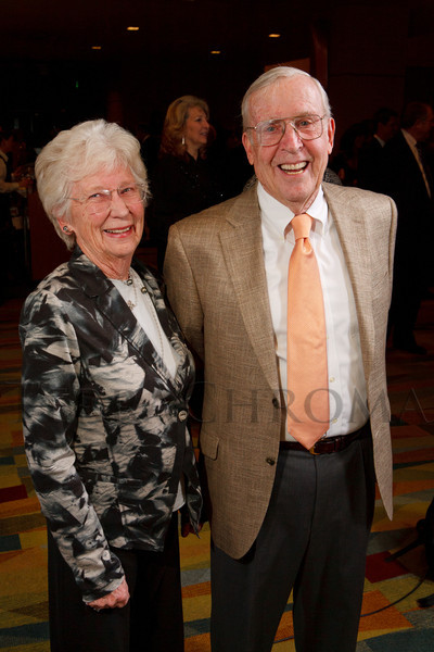 Sally and Bill (EYC foundation board chair) Harvey.  Excelsior Youth Center gala at the Hyatt Regency Denver at the Colorado Convention Center in Denver, Colorado, on Friday, Feb. 24, 2012.<br /> Photo Steve Peterson