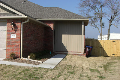 the other side has a slightly smaller porch area, but more internal square footage