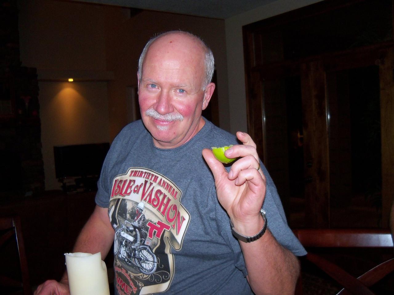 """Paul Lockhart - the """"margarita man"""""""
