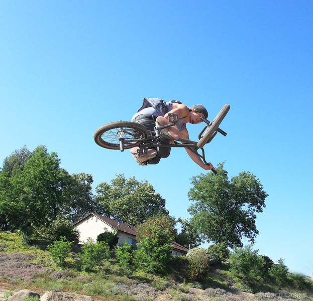 Freedom Compound BMX shoot