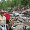 BONNIE & BILL AT BIG FALLS COUNTY PARK