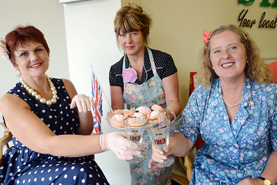 Staff at the Standard get ready to celebrate the Jubilee G120531-8d