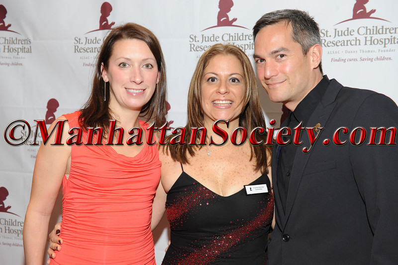 NEW YORK - MAY 03: Kimberly Andrews, Cristina Salcedo, Jesse Bertomen attend Gala por la Vida! Benefiting St. Jude Children's Research Hospital on Thursday May 3, 2012 in New York City at the Copacabana, 268 West 47th Street in Hell's Kitchen/Clinton section of Manhattan. (Photos by Gregory Partanio ©2012 ManhattanSociety.com)