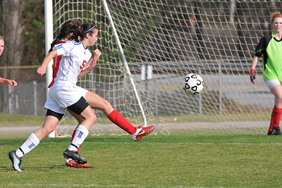 Girls Varsity -vs- N Oconee (03/13/12)
