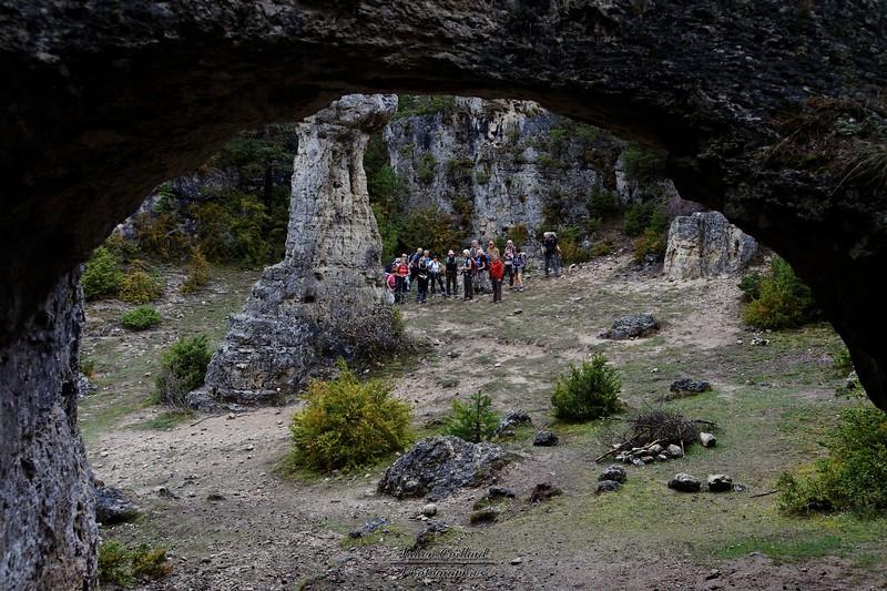 Corniche Nord de la Jonte - Vers la Grotte de la Baumelle