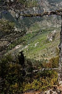 St Chely du Tarn - Au dessus de Hauterives