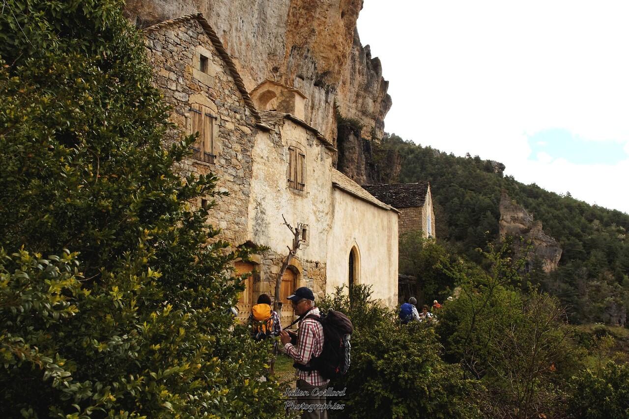 Cirque de St Marcelin - Ruines troglodytes
