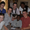 Temwani--a Birdland student who was sick at home, so he got a special SAAS visit.