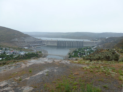 Grand Coulee Dam from a distance