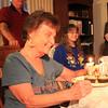Singing Happy birthday to Grandma.