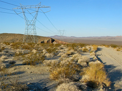 Transmission Line Road on the way to Budweiser Wash