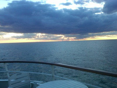 Lake Erie at sunset - Rand Mirante '70