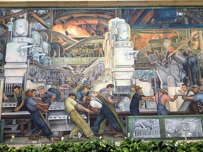 Diego Rivera Mural - Mike Littman